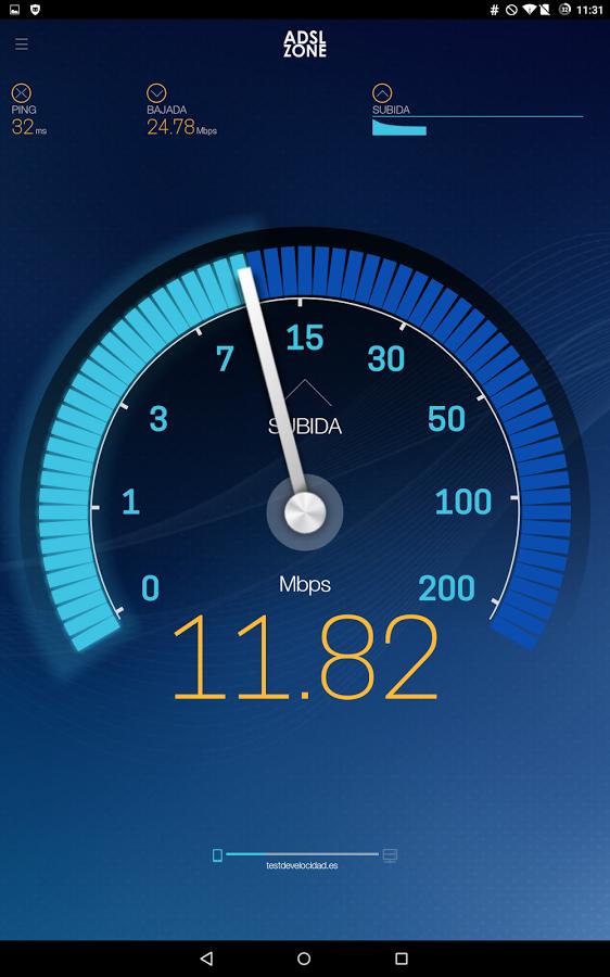 Test de velocidad Plus