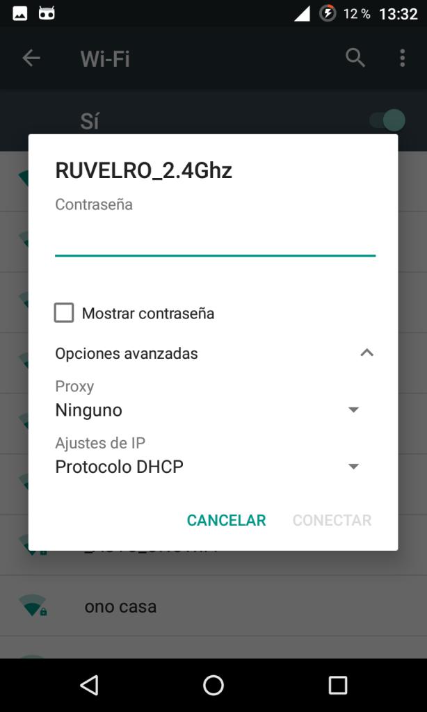 Conectar a una red Wi-Fi en Android