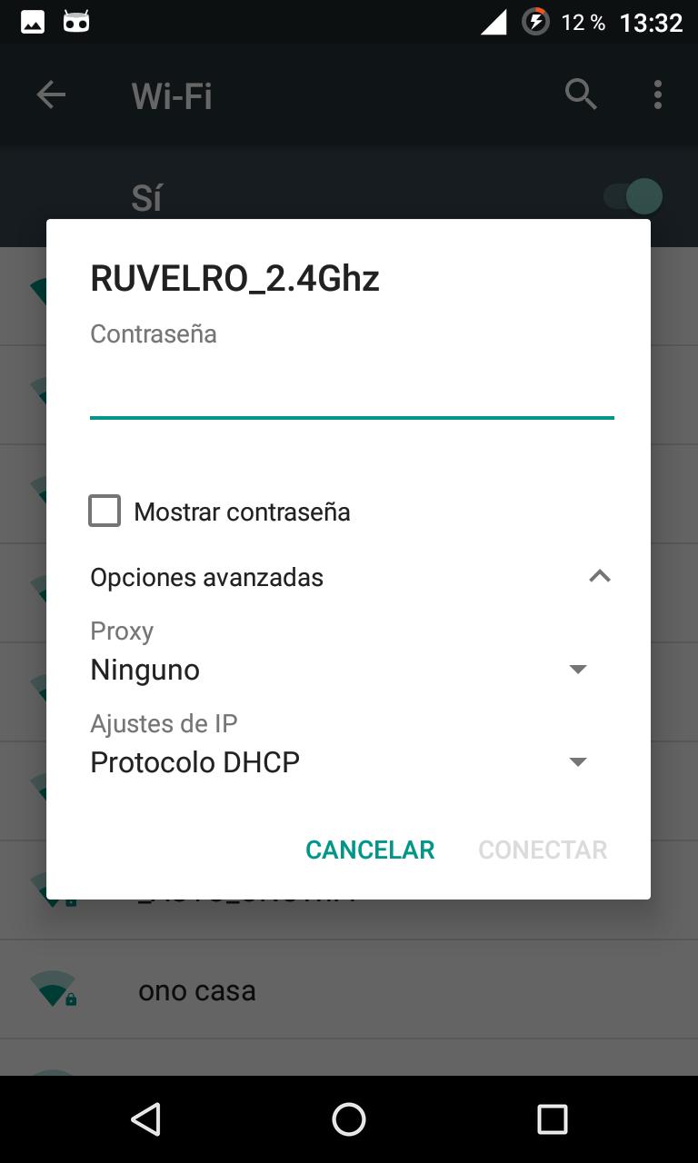Cómo cambiar la dirección IP por una manual en un smartphone