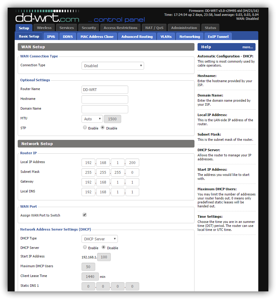 DD-WRT - Configuración básica