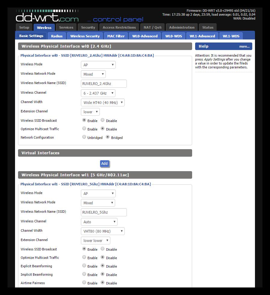 DD-WRT - Configurar Wi-Fi
