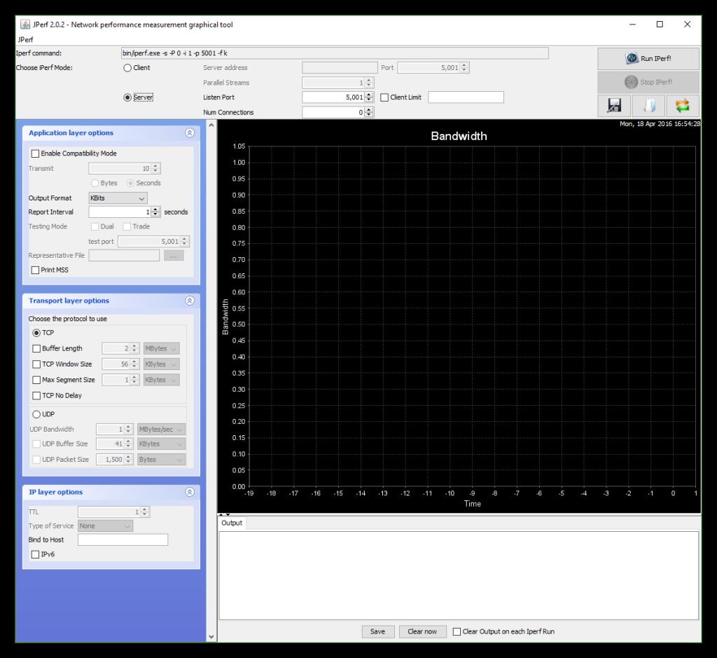 JPerf - Configurar servidor