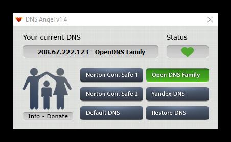DNS Angel - Seguro