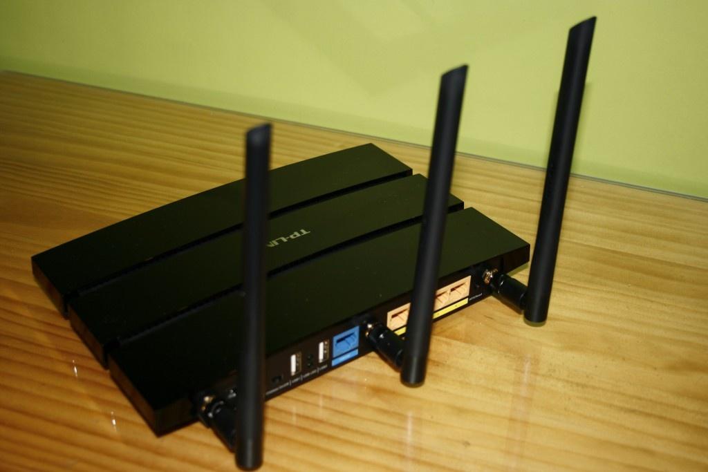router antenas