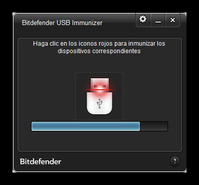 BitDefender USB Immunizer - Vacunando