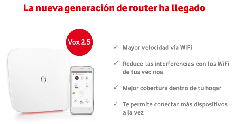 Vodafone - Sercomm Vox 2.5