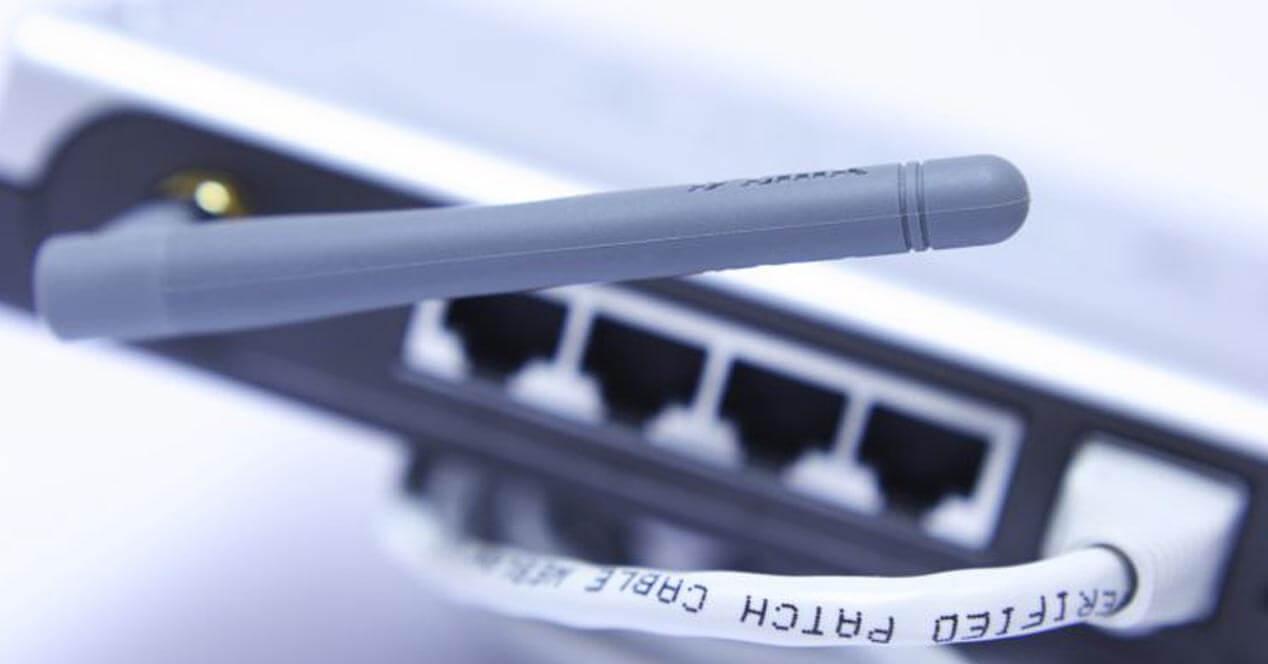 router wifi conectado