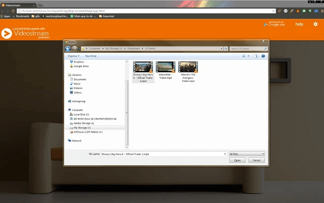 videostream-for-google-chromecast