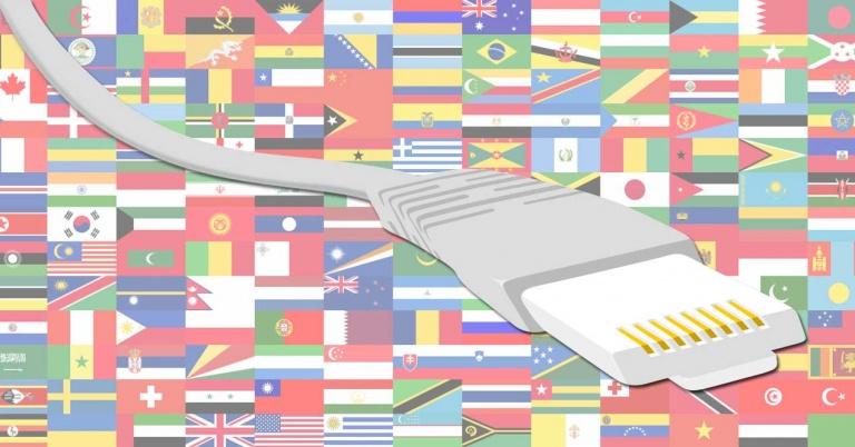Ranking mundial de los países con Internet más rápido en 2016