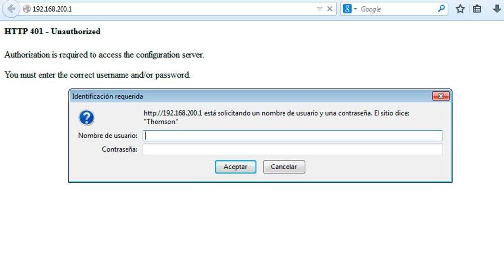 usuario y contraseña por defecto de los routers