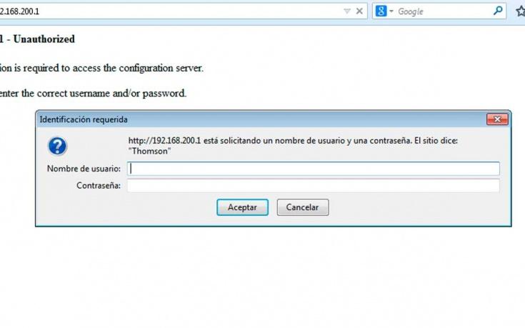 Usuario y contraseña por defecto de los principales routers y operadores