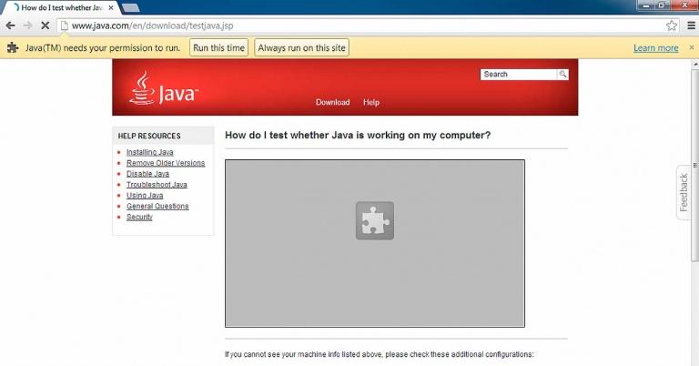 Cómo utilizar Java, Silverlight y otros plugins no soportados en los navegadores actuales