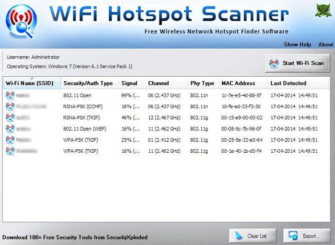 wifi-hotspot-scanner