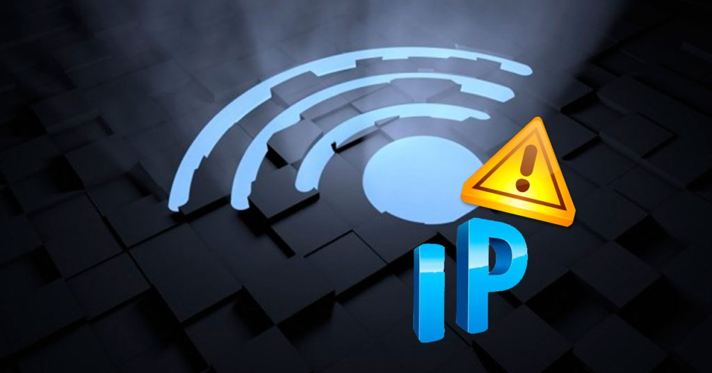 wifi configuración ip no válida