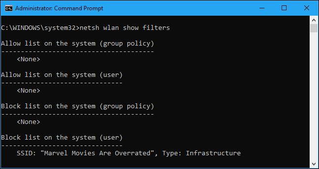 bloquear redes wifi windows 10