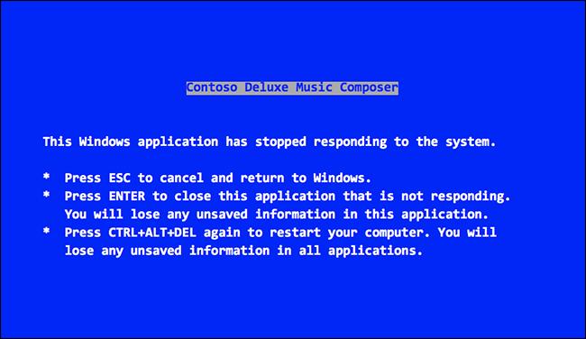 windows 31 bsod pantallazo azul de la muerte