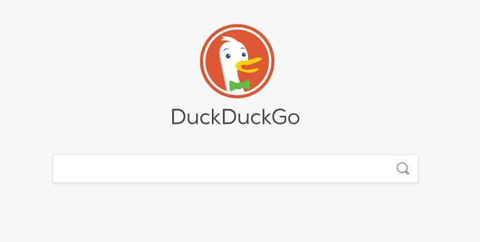 duckduck go pantalla