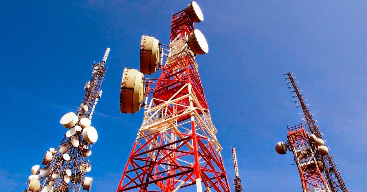 antenas acceso a Internet