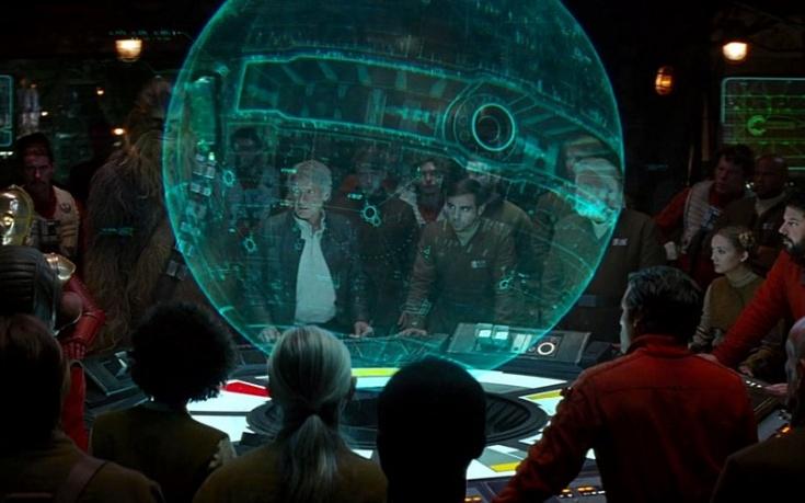 ¿Existe algo parecido a Internet en el universo de Star Wars?