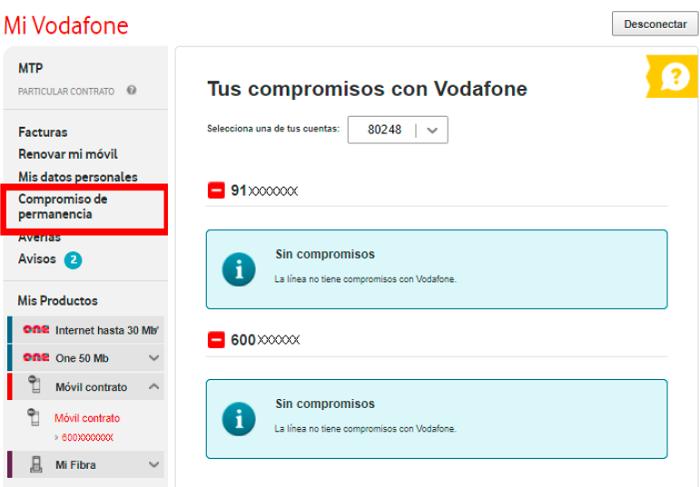 perfil usuario vodafone