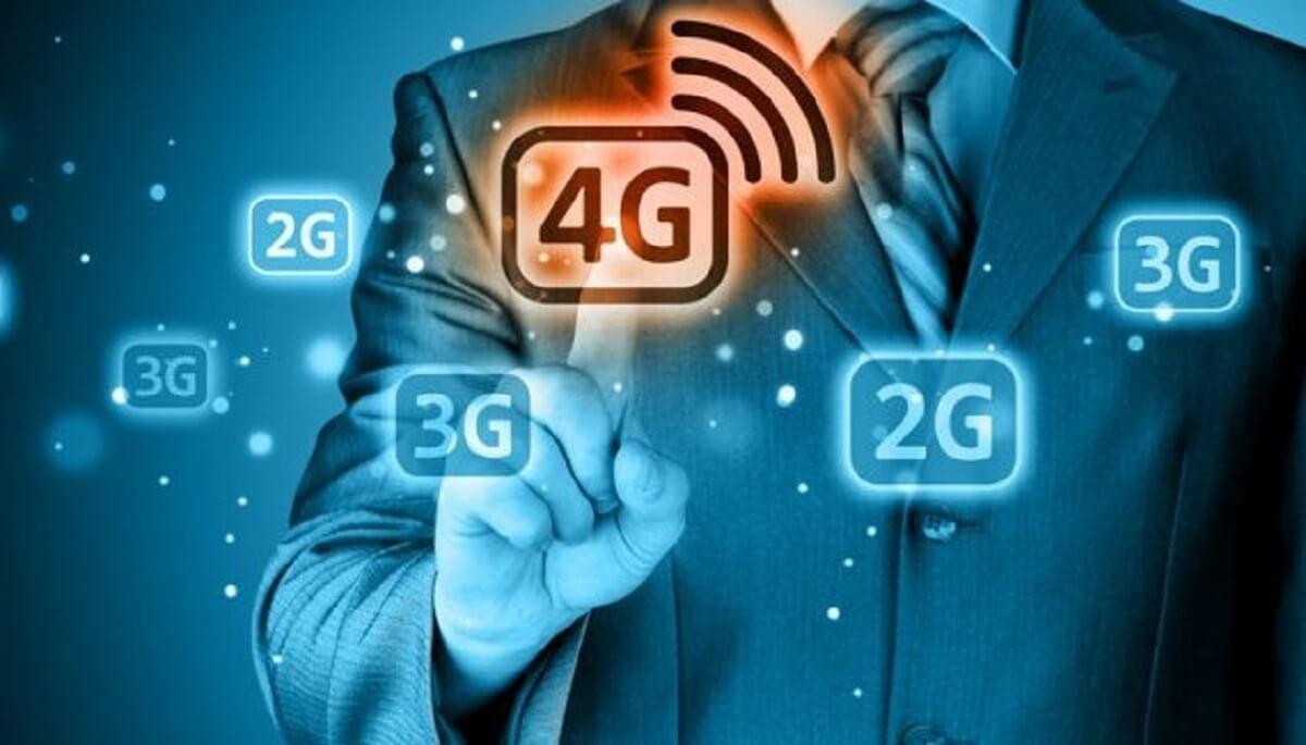 4G pantalla