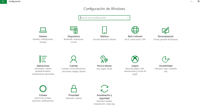 configuración wifi windows