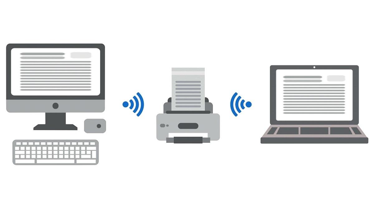como funciona impresora wifi