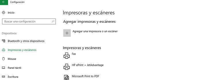impresora wifi configuración