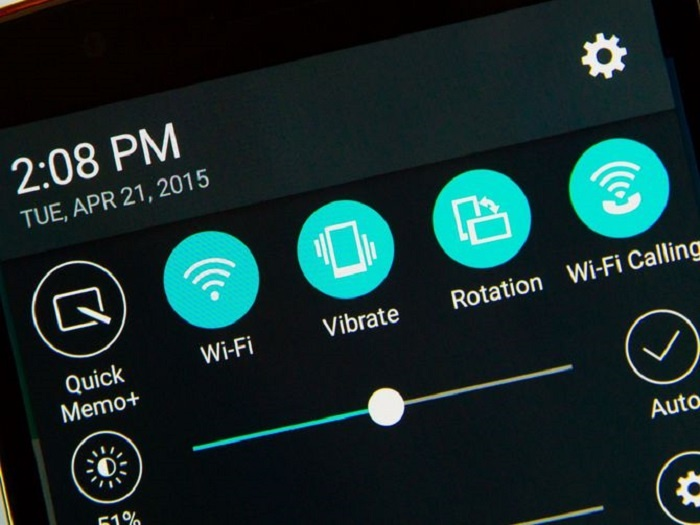 llamada wifi ajustes