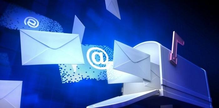 velocidad de internet email