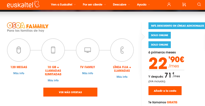 euskaltel fibra+movil+tv