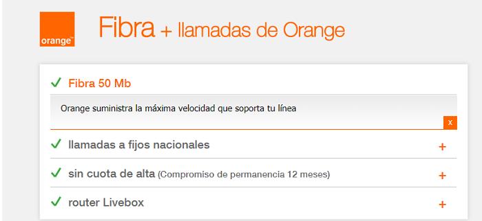 amena fibra orange