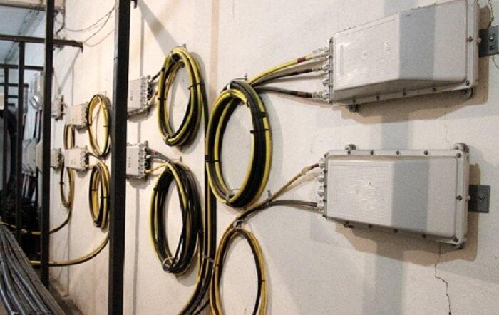 fibra óptica cables