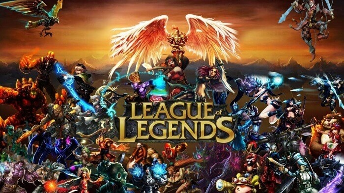 league of legends escenario