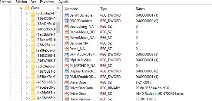 registro windows 10