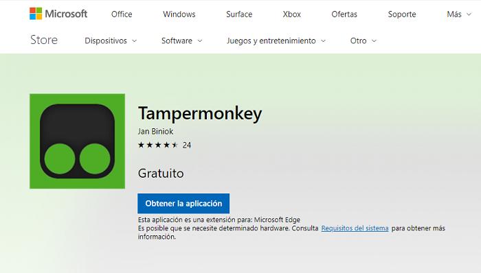 tampermonkey microsoft