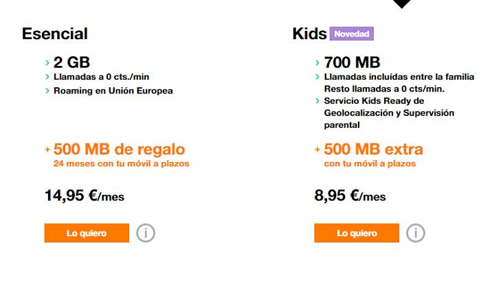 paquetes internet orange