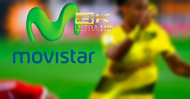 Movistar comenzará a emitir el fútbol y otros contenidos en 4K a partir de septiembre