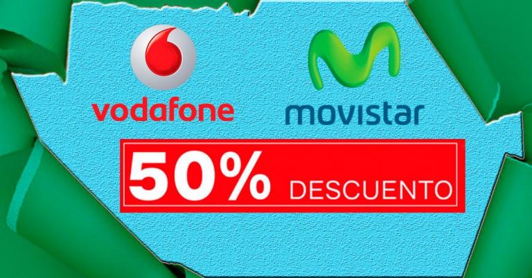 Movistar y Vodafone ofrecen descuentos de hasta el 50% en convergentes para todo un año