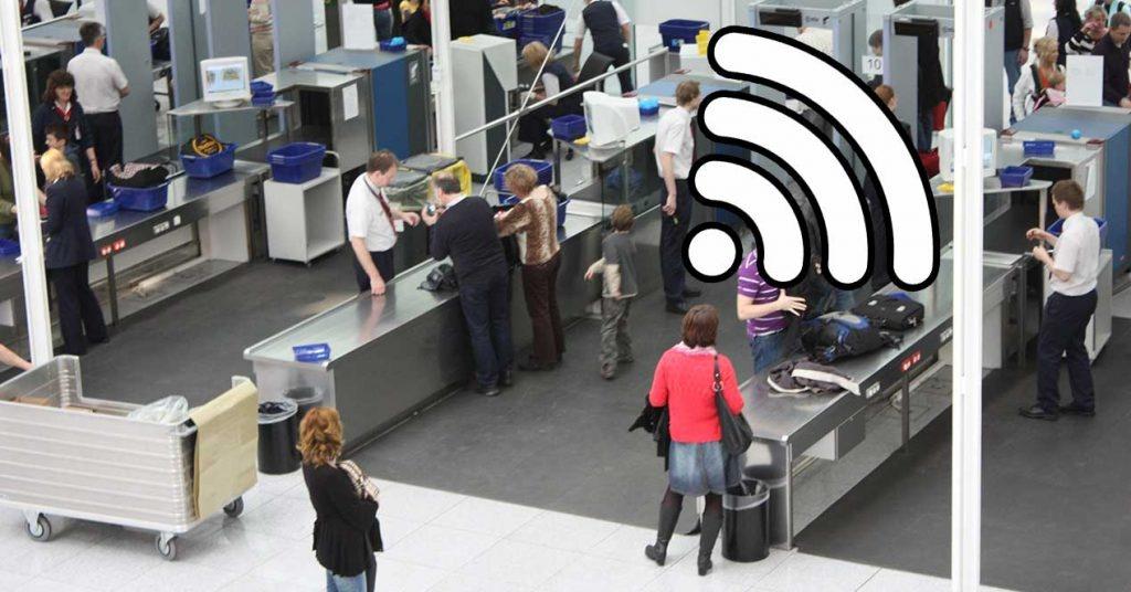 escaneo aeropuerto wifi