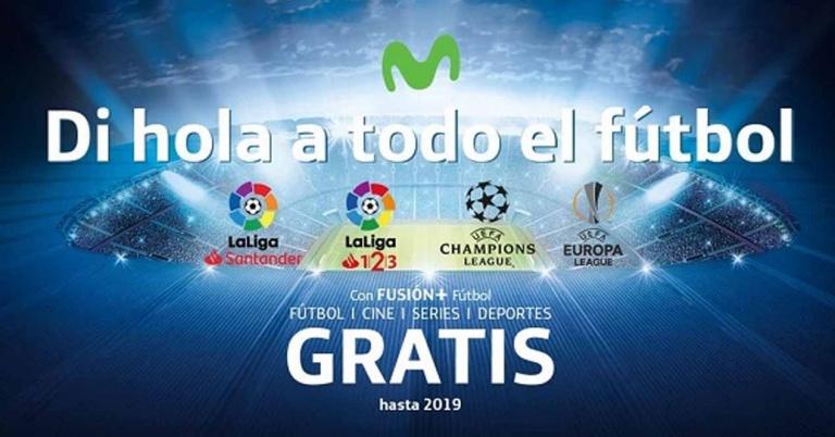 Así queda el fútbol en Movistar+: cinco canales para disfrutar del deporte rey