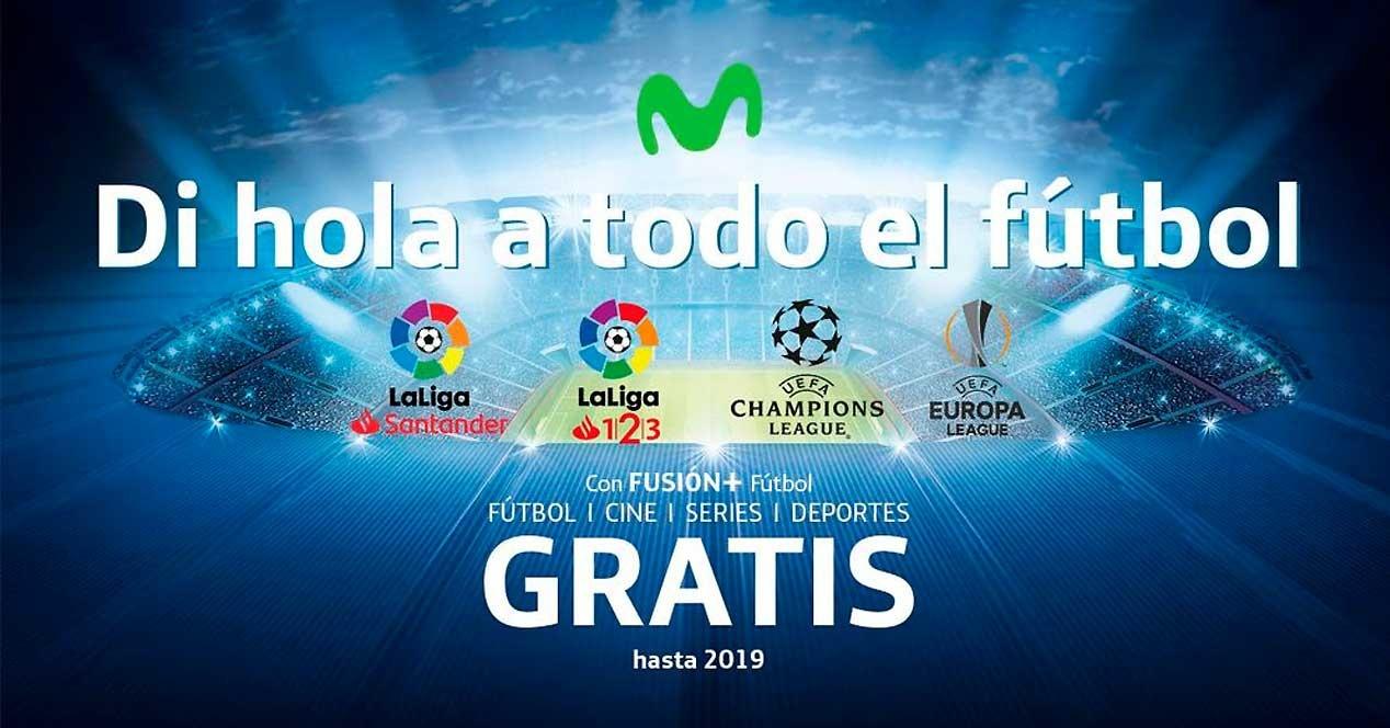 logos de futbol en movistar+