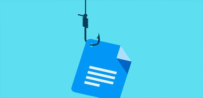 Ataque phishing a través del e-mail