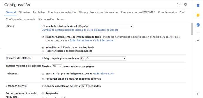 Cómo evitar que se abran las imágenes externas en Gmail