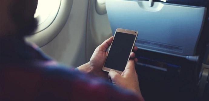 Poner el móvil en modo avión