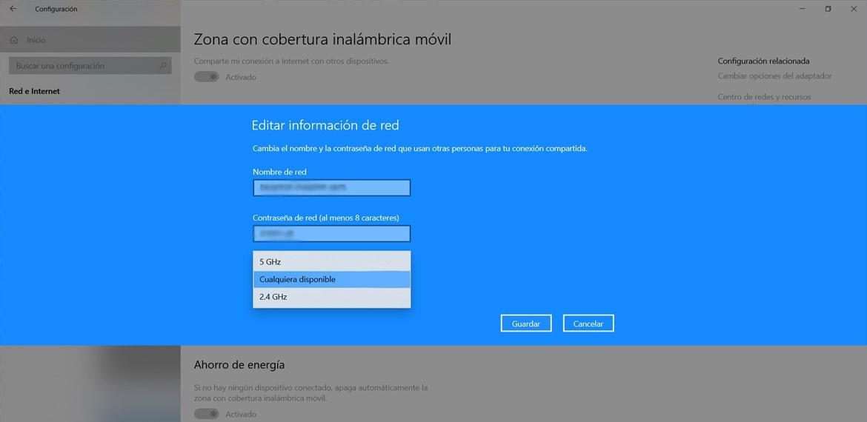 Cómo compartir Internet desde Windows 10
