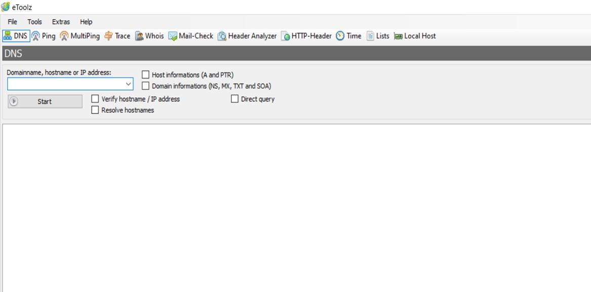 eToolz, una herramienta para Windows