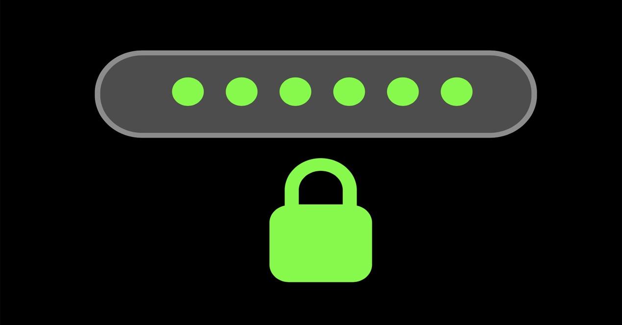 Olvidar contraseñas por Internet