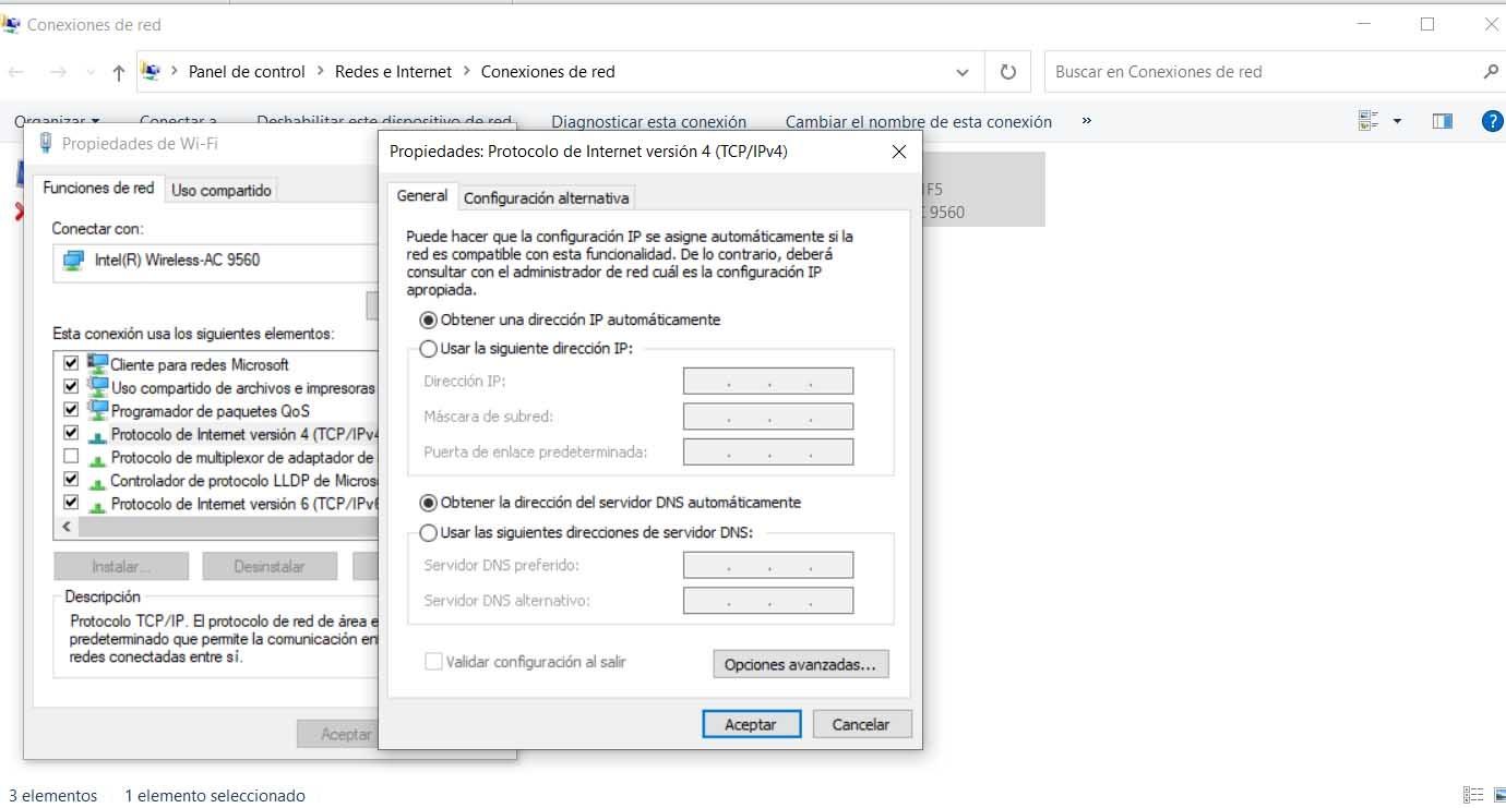 Cambiar las DNS en Windows